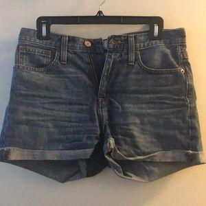 J Crew Denim Shorts